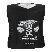 Axe Shower Gel / Body Wash - Black Chill - Net Wt. 16 FL OZ (473 mL) Each - Pack of 3 Bottles