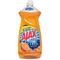 Ajax Triple Action Dish Liquid-Orange, 28 oz
