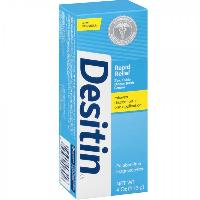 DESITIN Rapid Relief Zinc Oxide Diaper Rash Cream 4 oz