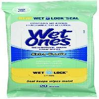 Wet Ones Sensitive Skin Hand Wipes, 20 Count