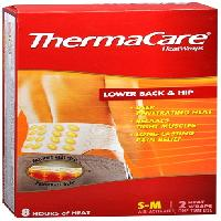 THERMACARE LOW BCK/HIP S/M 2CT