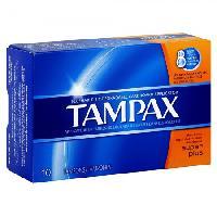 TAMPAX TAMPONS SUPER PLUS  10