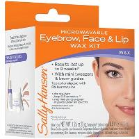 Sally Hansen Microwaveable Eyebrow, Face & Lip Wax Kit