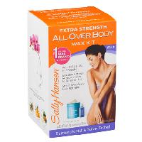 Sally Hansen Extra Strength All-Over Body Wax Hair Removal Kit 1 ea