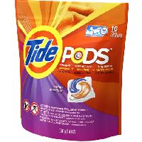 TIDE PODS SPRING MEADOW 16 CT