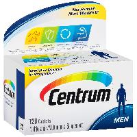 Centrum Men Multivitamin/Multimineral Supplement (120-Count Tablets)